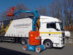 Hoogwerker geleverd door Heftruck Service Gemert